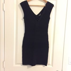 BEBE cocktail dress, Black, Size Small